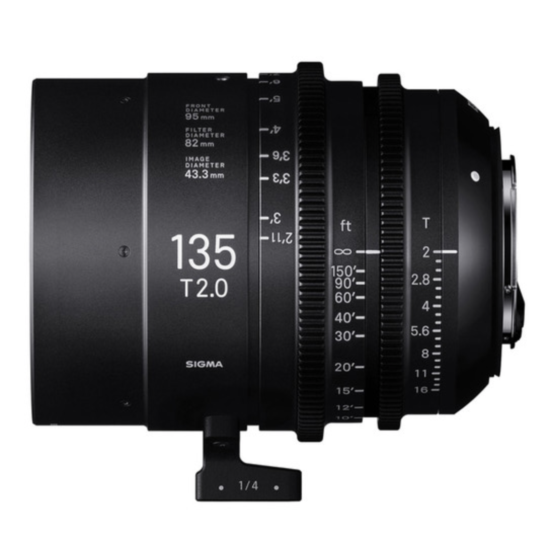 Full-Flame High Speed Prime 135mm T2 EF