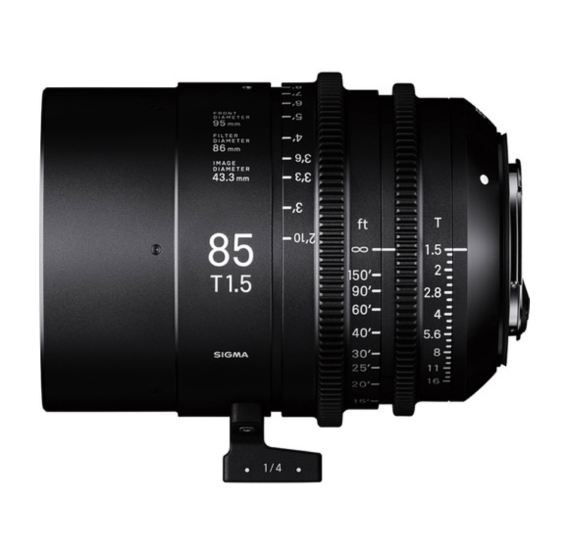 Full-Flame High Speed Prime 85mm T1.5 PL