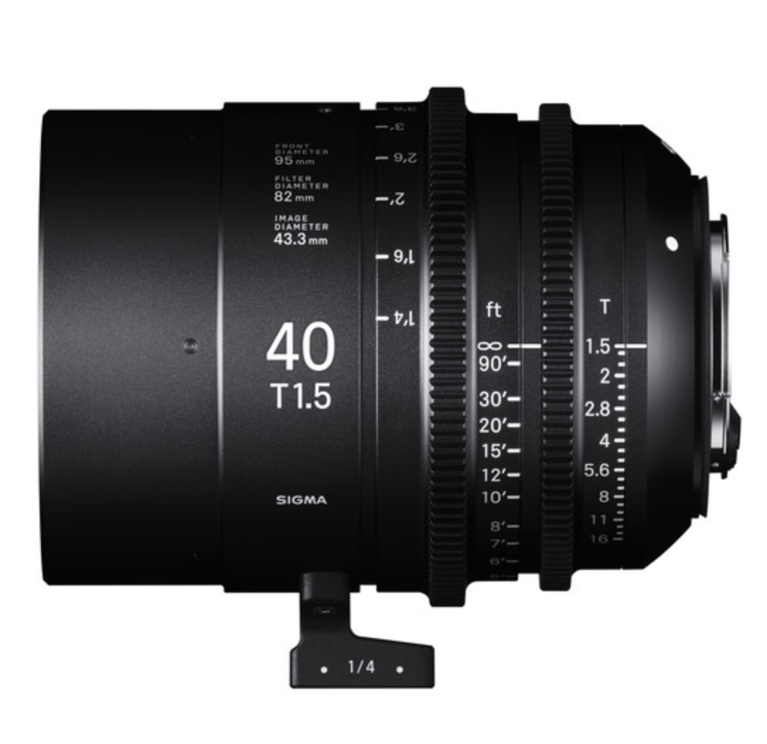 Full-Flame High Speed Prime 40mm T1.5 PL