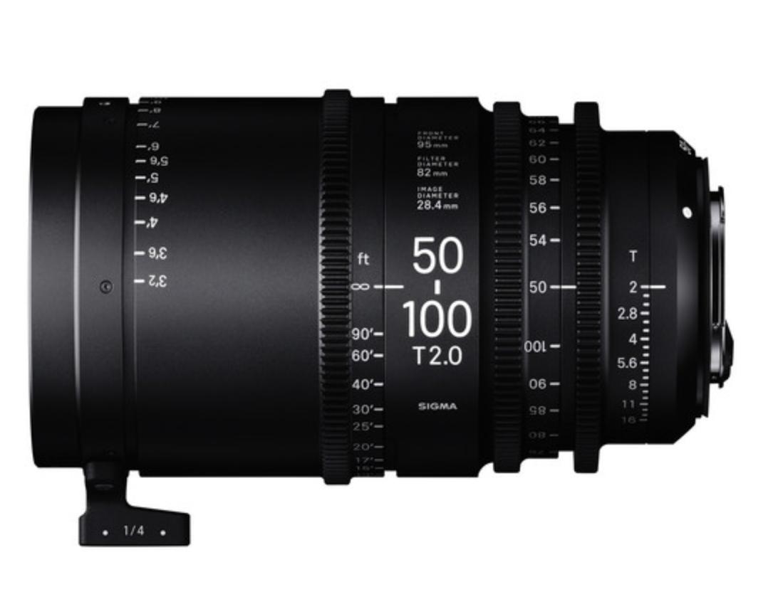 High Speed Zoom Lens 50-100mm T2.0 PL
