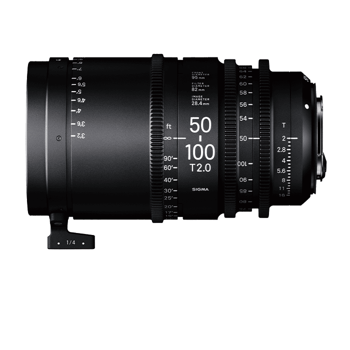 High Speed Zoom Lens 50-100mm T2.0 PL