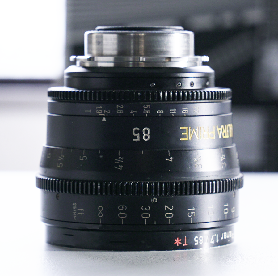 Ultra Prime 85mm T1.9