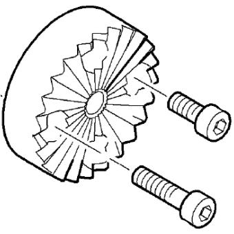 O'Connor – Sachtler 菊座変換 [ φ150mm用 ]