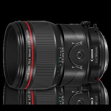 チルト/シフトレンズTS-E90mm F2.8L Macro