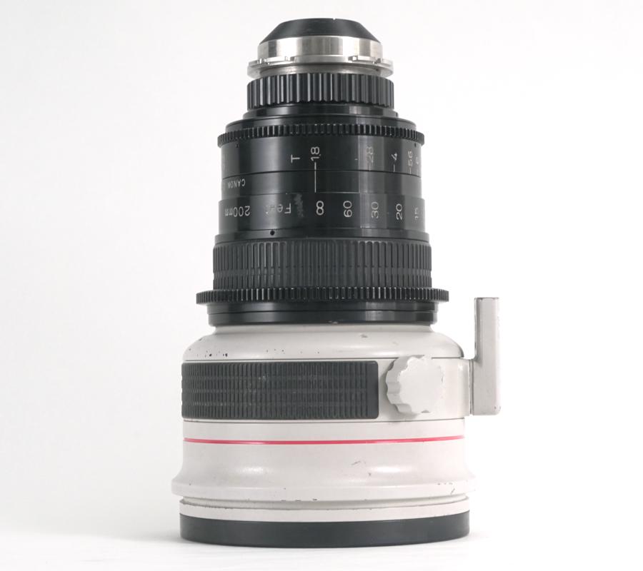 PLレンズ FD200mm T1.8L