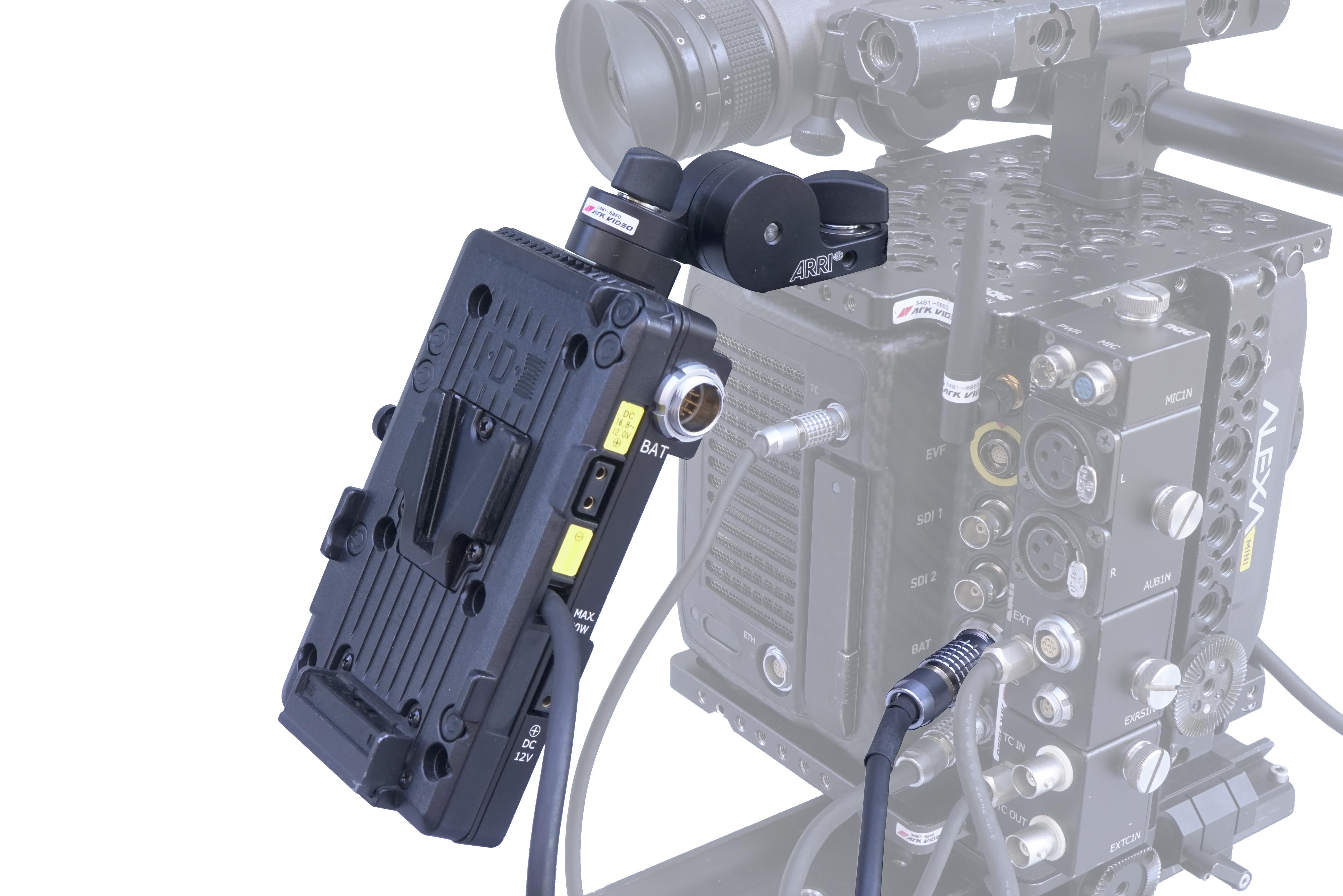 ALEXA Mini用 アジャスタブルVマウントバッテリープレート